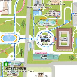 バリアフリーマップ 上野文化の杜