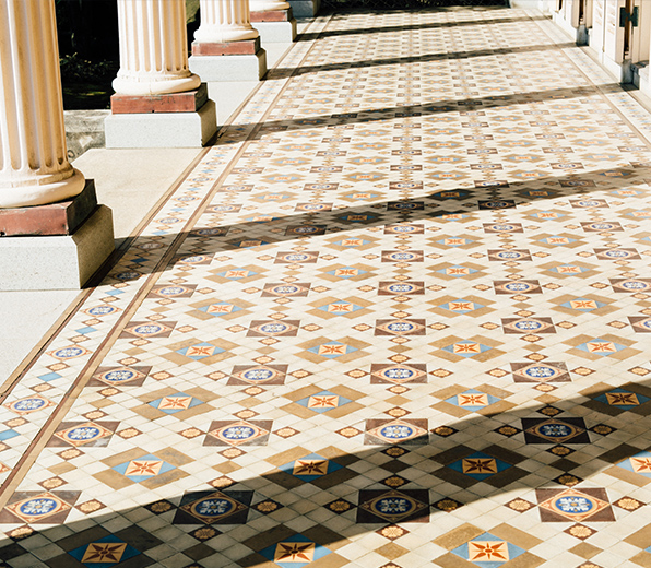Tiles by Minton in the UK