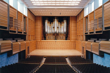 Tokyo University of the Arts Concert Hall (Sougakudou)