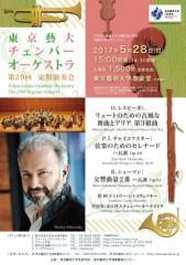 東京藝大チェンバーオーケストラ 第29回定期演奏会