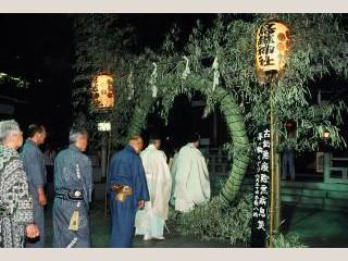 鳥越神社・榊神社・須賀神社・小野照崎神社・矢先稲荷神社ほか【茅の輪くぐり】