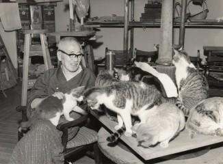開館50周年記念「猫百態―朝倉彫塑館の猫たち―」