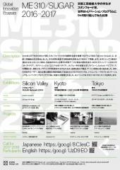 3331アーツ千代田【「ME310/SUGAR 2016-2017 プロジェクト成果」展】