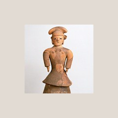 重要文化財 埴輪 盛装女子
