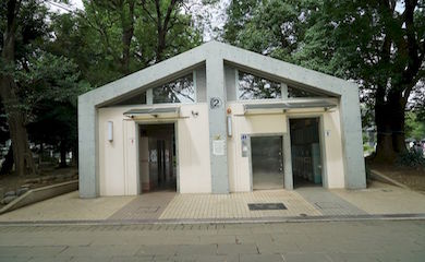 上野公園内トイレ2