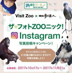 10/17-11/21「Visit Zoo×散歩の達人 ザ★フォトZOOニック!」キャンペーン