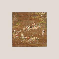絵画―商山四皓・文王呂尚図屏風―、染織―平絹幡残欠とさまざまな幡足―