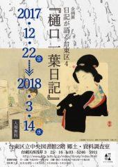 企画展「樋口一葉日記」【トーク・イベント「一葉日記を読む」】