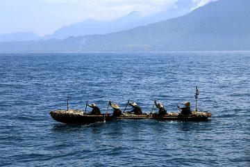 科博NEWS展示「黒潮を越えた丸木舟 ~台湾→与那国島 航海の全記録~」